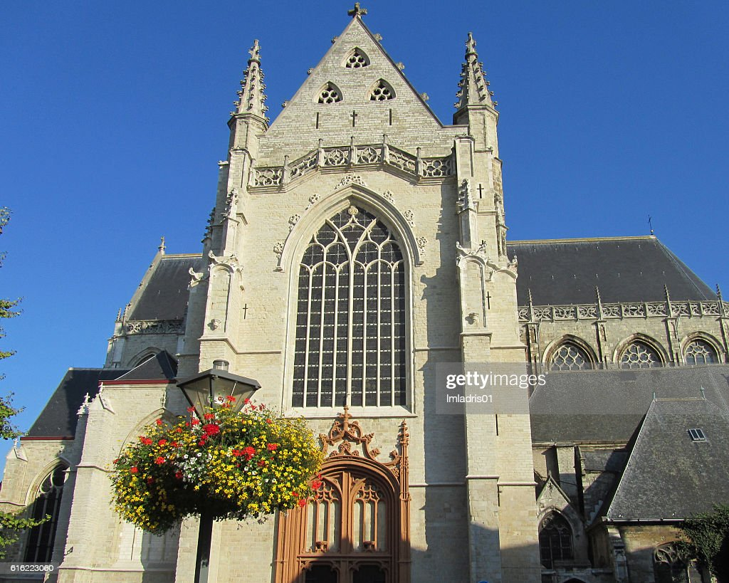 St. Martins Church, Aalst : Stock Photo