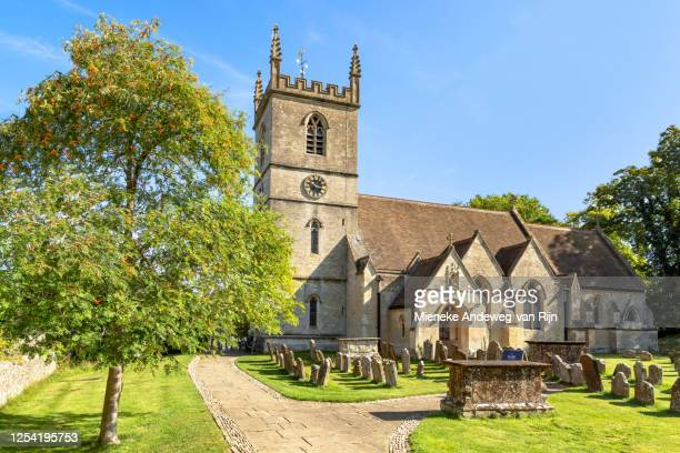 st martin's church, bladon, oxfordshire, england, united kingdom - celebrity death stock pictures, royalty-free photos & images