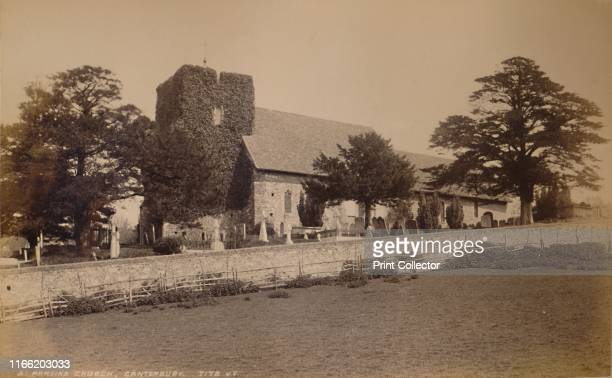St Martin's Church Canterbury' 1929 The oldest parish church in continuous use in the Englishspeaking world Artist Unknown