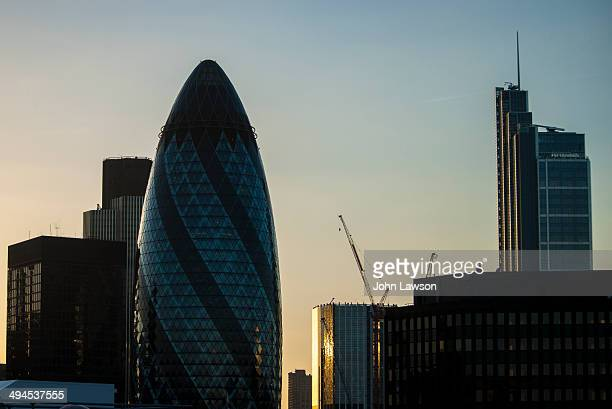 St Mary Axe is a skyscraper in London's main financial district, the City of London, completed in December 2003 and opened in April 2004. With 41...