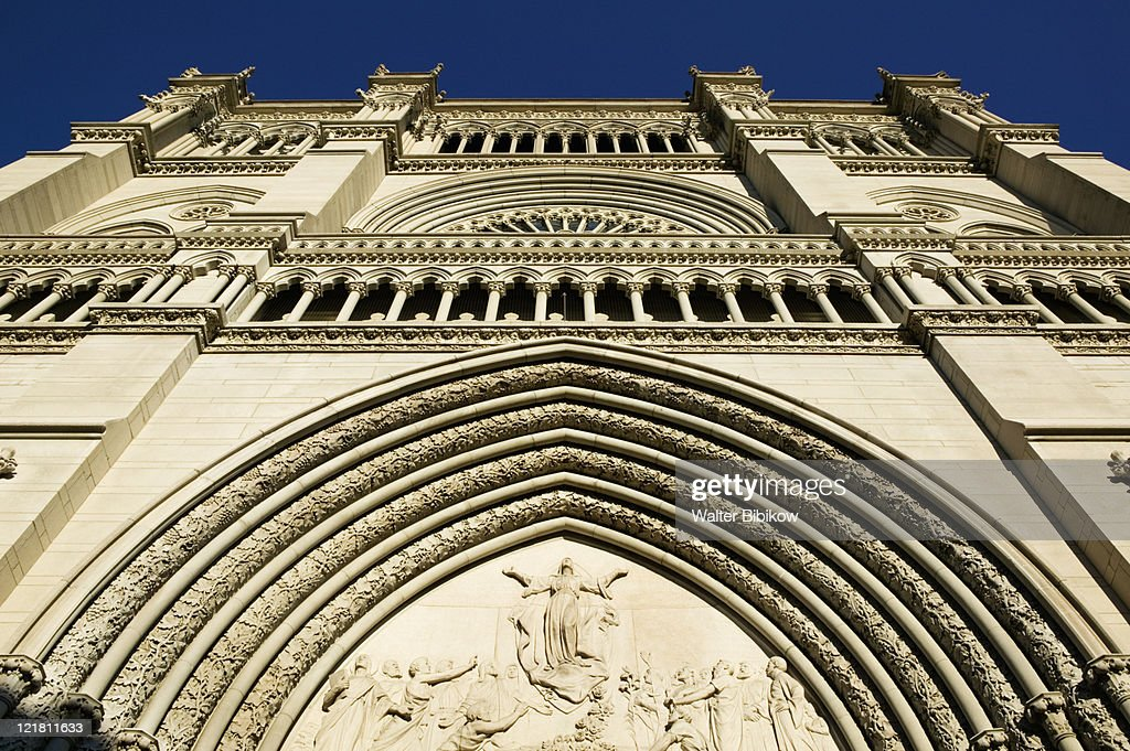 St. Mary Cathedral Basilica of the Assuption  : Stock Photo