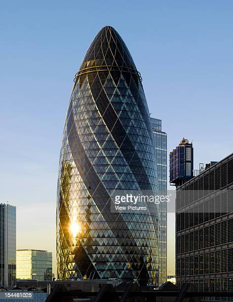 30 St Marys Axe The Gherkin Swiss Re London United Kingdom Architect Foster And Partners 30 St Marys Axe The Gherkin Swiss ReFoster And PartnersShot...