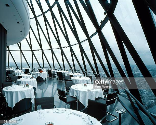 30 St Marys Axe The Gherkin Swiss Re London United Kingdom Architect Foster And Partners Swiss Re Tower St Mary Axe Gherkin Restaurant