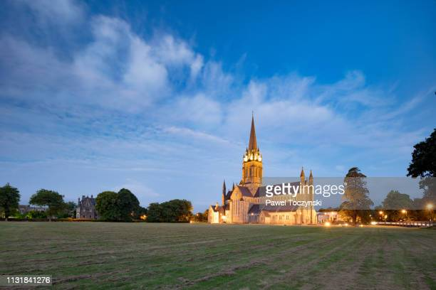 st mary's cathedral in killarney, ring of kerry, ireland - republic of ireland stock pictures, royalty-free photos & images