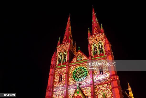 St Mary's Cathedral - Lights of Christmas