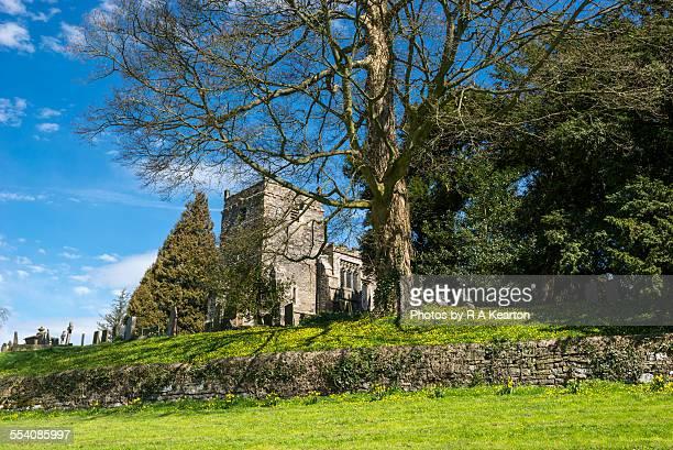 St Mary's church, Tissington, Derbyshire