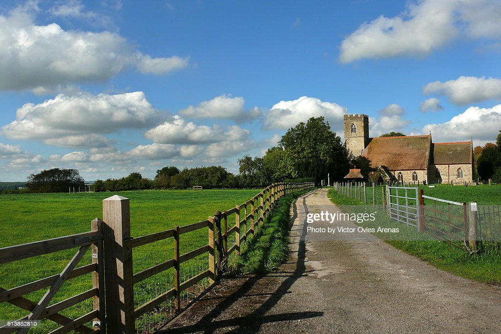 St Mary's Church - Whittlebury : Foto de stock