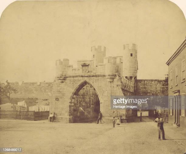 St. Mary's Gate, York, 1850s. Artist Unknown.