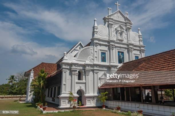 "st mary's orthodox syrian church, kottayam cheriyapally, kerala, india - india ""malcolm p chapman"" or ""malcolm chapman"" stock-fotos und bilder"