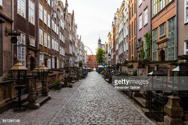 St Mary's Street (Ulica Mariacka) in Gdansk, Poland