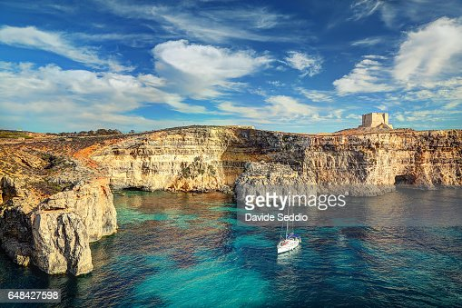 St. Mary's Tower in Comino Island, Malta