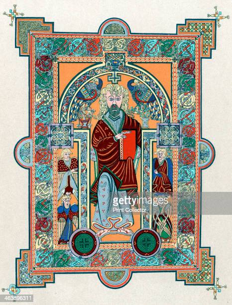 St Matthew from the Book of Kells, c800. The Book of Kells is a manuscript of the Four Gospels originally thought to have been produced in Ireland in...