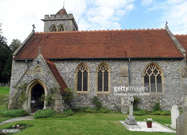 St Michael and All Angels Anglican church in Hughenden Buckinghamshire England Hughenden is closely associated with the nearby Hughenden Manor and...