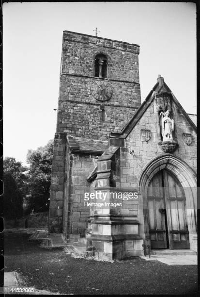 St Michael and All Angels Church Church Bank Newcastle upon Tyne Tyne Wear circa 1955c1980 An exterior view of St Michael and All Angels Church...