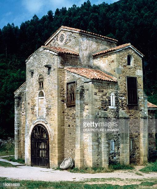 St Michael of Lillo's church Oviedo Spain 9th century