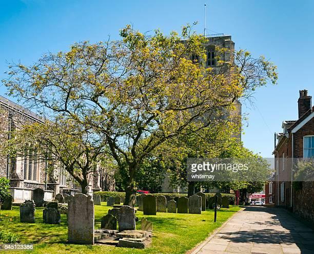 St Michael's church and churchyard, Beccles