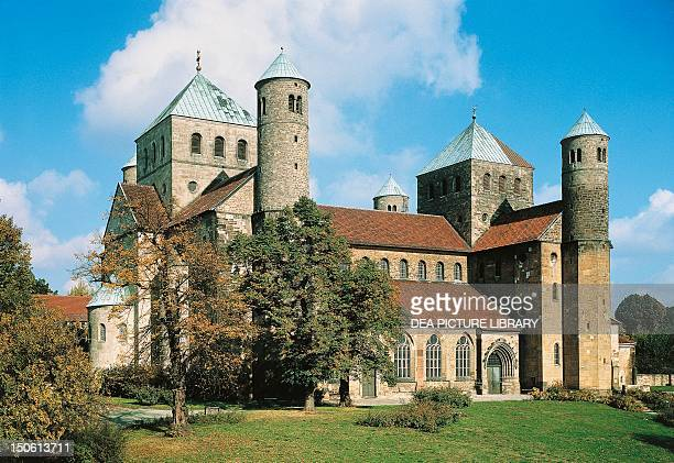 St Michael's church Hildesheim Germany 11th century