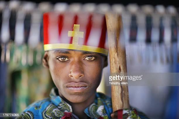 St. Michael's festival, Simien Mountains, Ethiopia