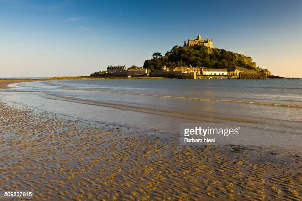 St Michael's Mount Cornwall taken in the early evening light