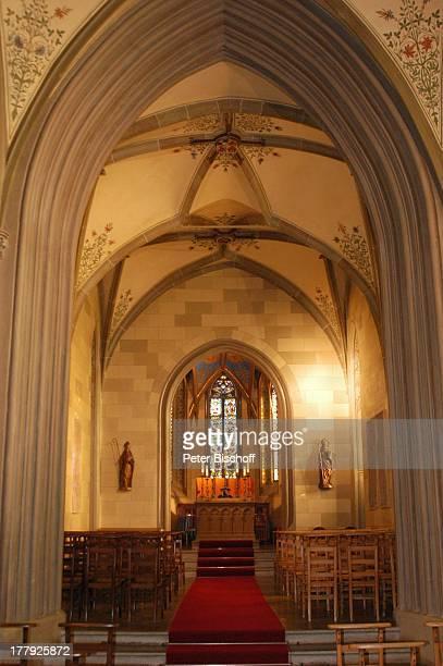 St Michaelskapelle Burg 'Hohenzollern' Bisingen BadenWürrtemberg Deutschland Europa Denkmal Sehenswürdigkeit touristische Attraktion Architektur...