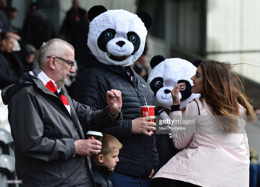 GBR: St Mirren v Dundee United - Ladbrokes Scottish Premiership Play-off Final