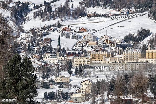 St Moritz at winter, Switzerland