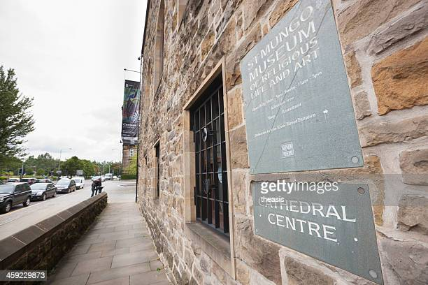 st mungo museum of religious art and life, glasgow - theasis stock pictures, royalty-free photos & images
