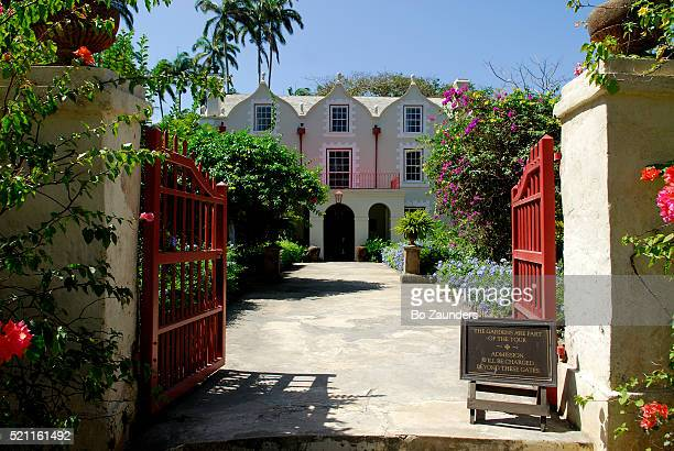 st. nicholas abbey in barbados - barbados stock pictures, royalty-free photos & images