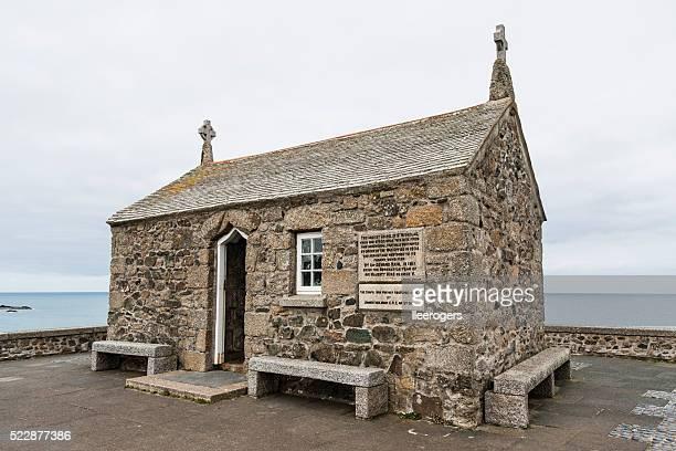 """Sankt Nikolaus Kirche auf der Insel von St. Ives, Veranstaltungsraum """" Cornwall"""""""