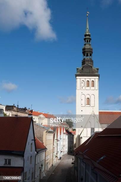 St Nicholas Church in Raatli Street in Tallinn.