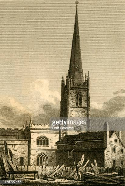 St Nicholas Church Liverpool' 1812 Members of the congregation had repeatedly warned officials that the spire was unsafe but nothing was done During...