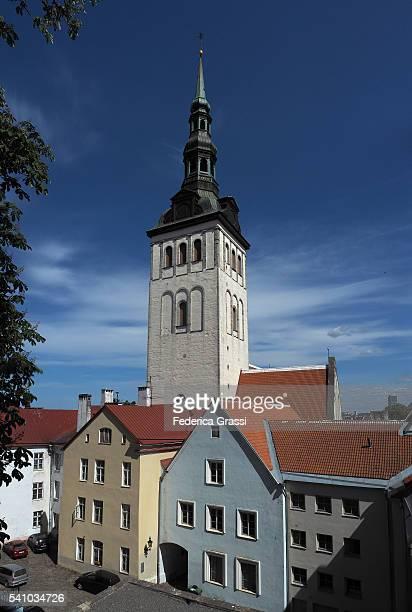 st. nicholas church, tallinn, estonia, northern europe - harjumaa stock pictures, royalty-free photos & images
