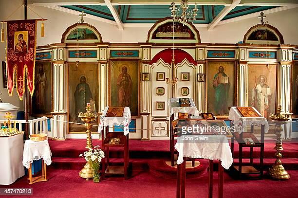St Nicholas Russian Orthodox Church interior