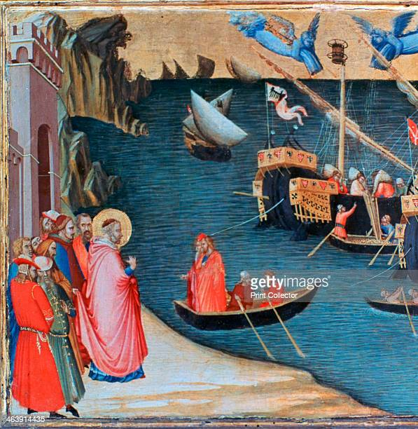 'St Nicholas Saves Mira from Famine' c13271332 From the collection of the Galleria degli Uffizi Florence Italy