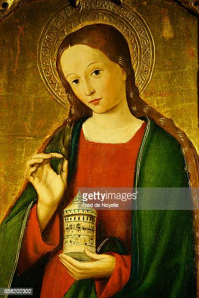 st. nicholas's cathedral. mary magdalene. - メアリー マグダレーン ストックフォトと画像