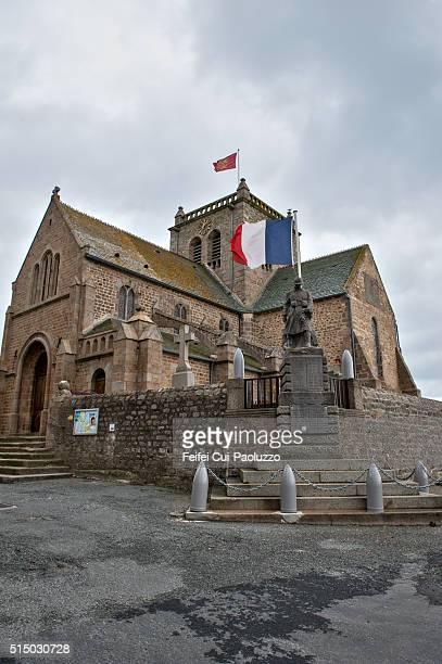 St Nicolas church at Barfleur Normany region in France