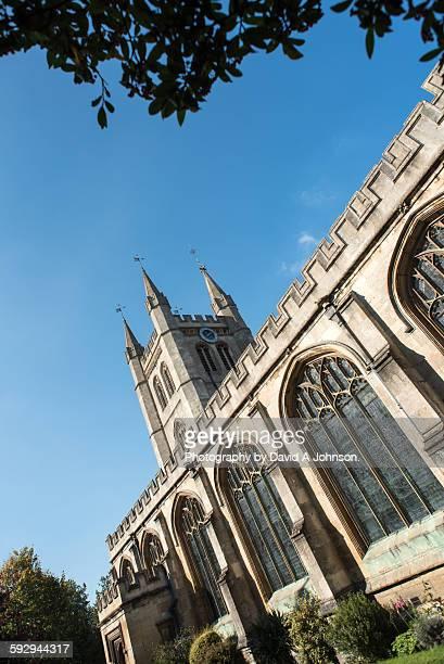 st nicolas church-newbury - ウェスト・バークシャー ストックフォトと画像