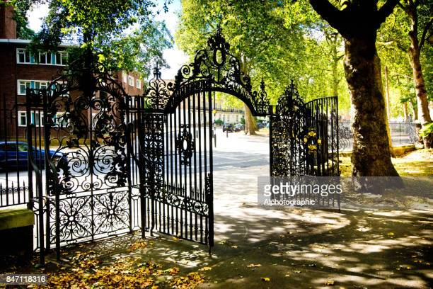 St Pancras Old Church gates