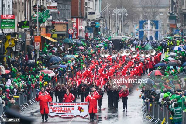 St Patrick Day Parade 2017 in Dublin's city center This year edition of St Patrick's Festival takes place from March 16th19th and brings 3000 artists...