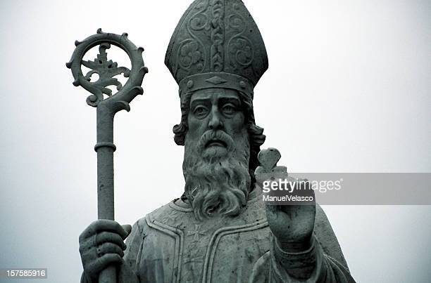 st patrick - mitre stock photos and pictures