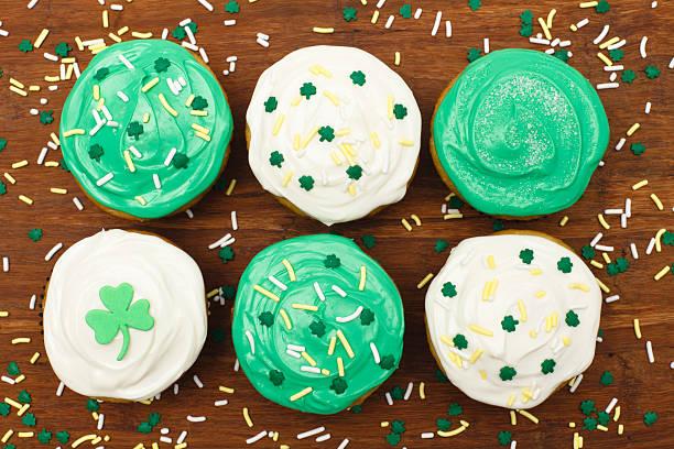 St. Patrick's Cupcakes