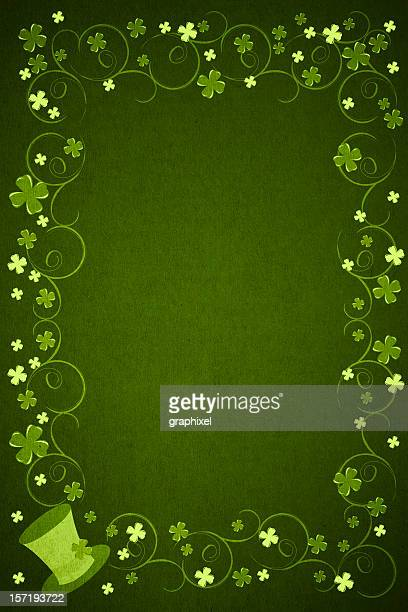 st. patrick's day background - st patricks background stock pictures, royalty-free photos & images