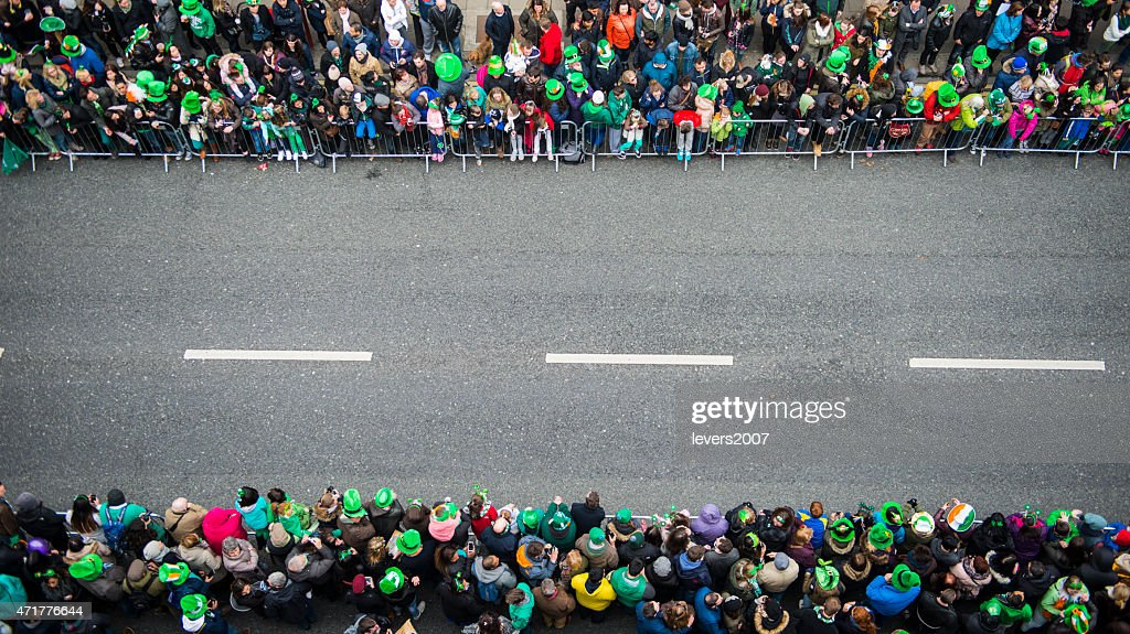 St. Patrick's Day Parade : Foto de stock