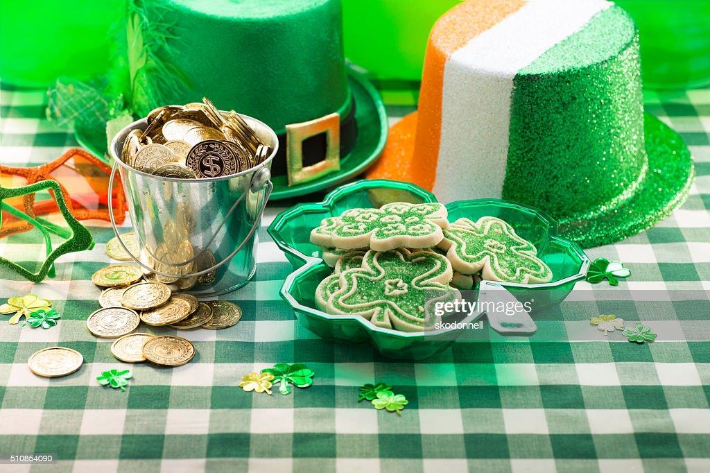 St. Patricks Day Party : Stock Photo