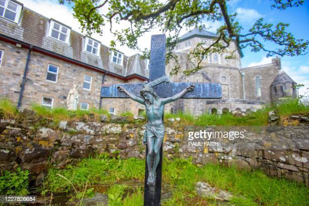 St. Patrick's Purgatory, commonly referred to as 'Lough Derg', is pictured on Lough Derg, a lake in County Donegal, is pictured near Donegal in...