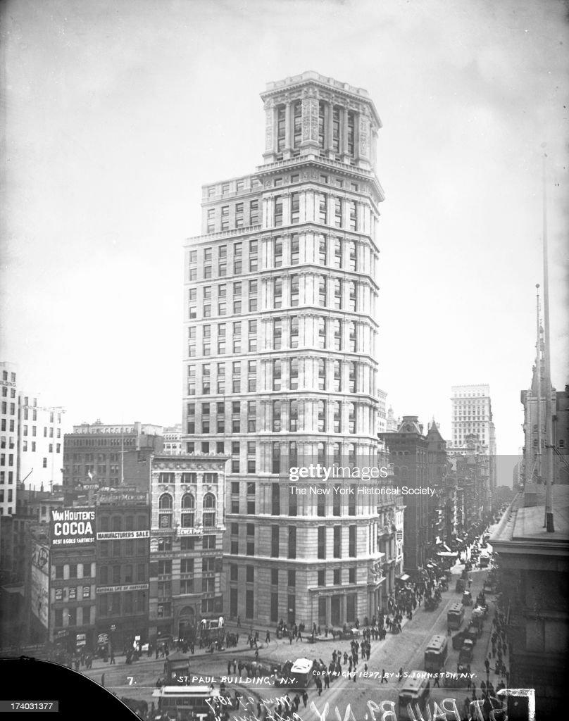 St. Paul Building, New York, New York, 1897.