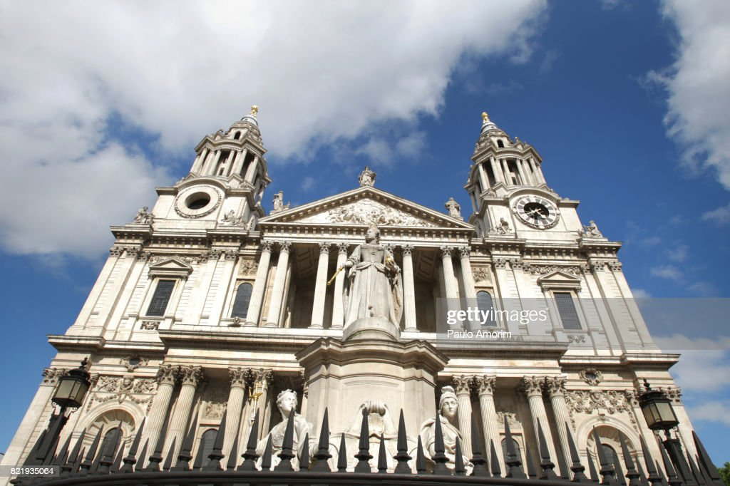 St Paul Cathedral Renaissance and Baroque Style in London : Stock Photo