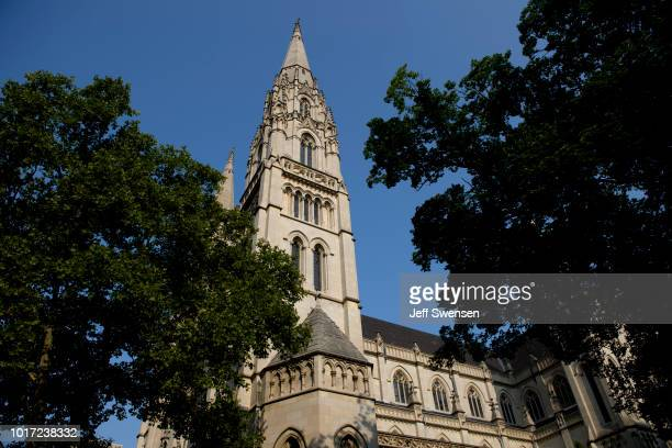 St Paul Cathedral the mother church of the Pittsburgh Diocese on August 15 2018 in Pittsburgh Pennsylvania The Pittsburgh Diocese was rocked by...