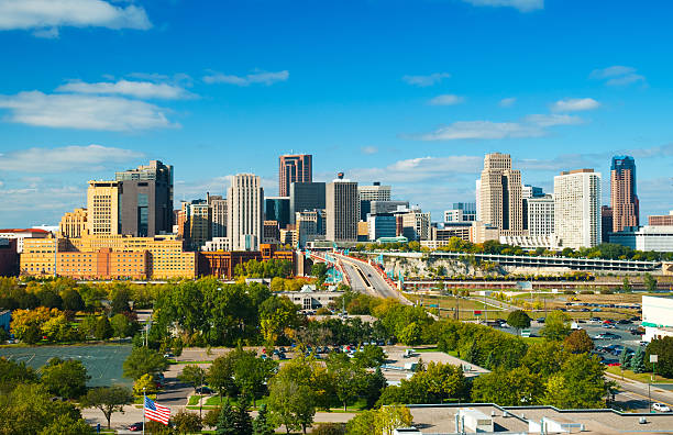 St. Paul downtown skyline