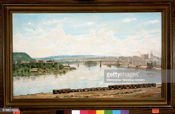 St Paul From Dayton's Bluff by Alexis Jean Fournier